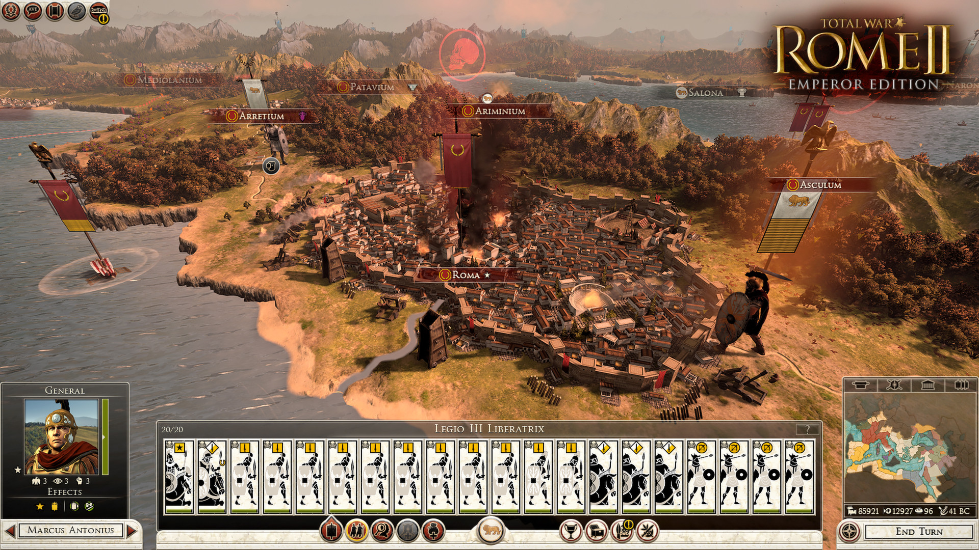 Total War: ROME II - Emperor Edition Steam Gift RU+CIS