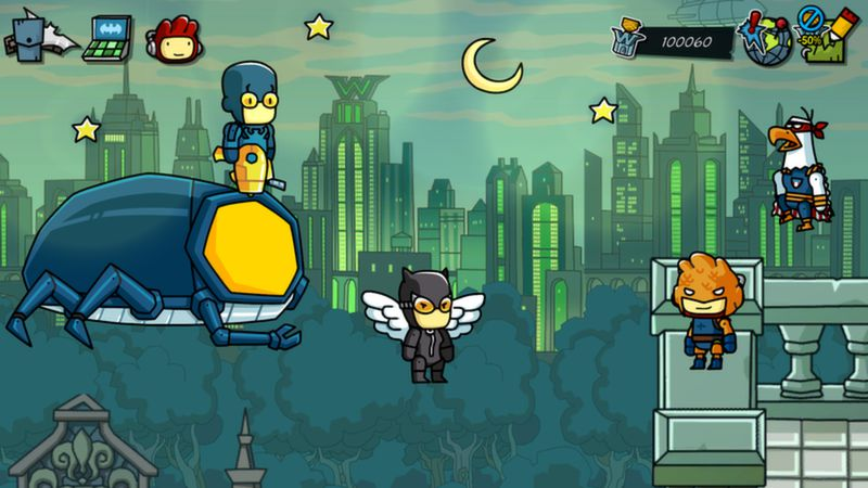 Scribblenauts Unmasked: A DC Comics Adventure (Gift)