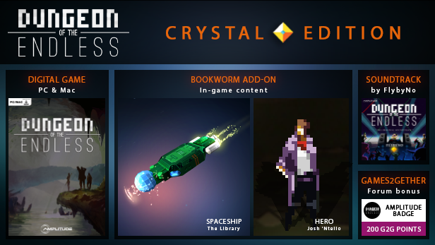 Dungeon of the Endless - Crystal Edition (Gift RU+CIS)