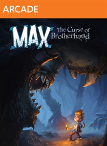 Max: The Curse of the brotherhood. xbox360 SCAN