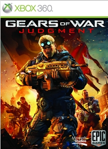 64 - Gears of War: Judgment common xbox 360