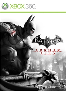 Batman: Arkham City  xbox 360 SCAN