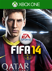 FIFA 14 xbox ONE SCAN