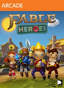 Fable Heroes xbox 360 SCAN