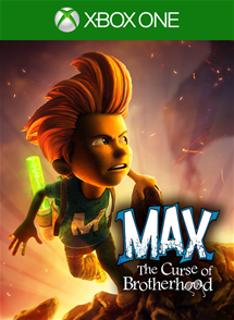 Max: The Curse of the brotherhood  xbox ONE SCAN