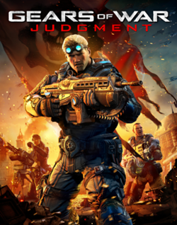 Gears of War: Judgment   xbox 360 xbox One SCAN