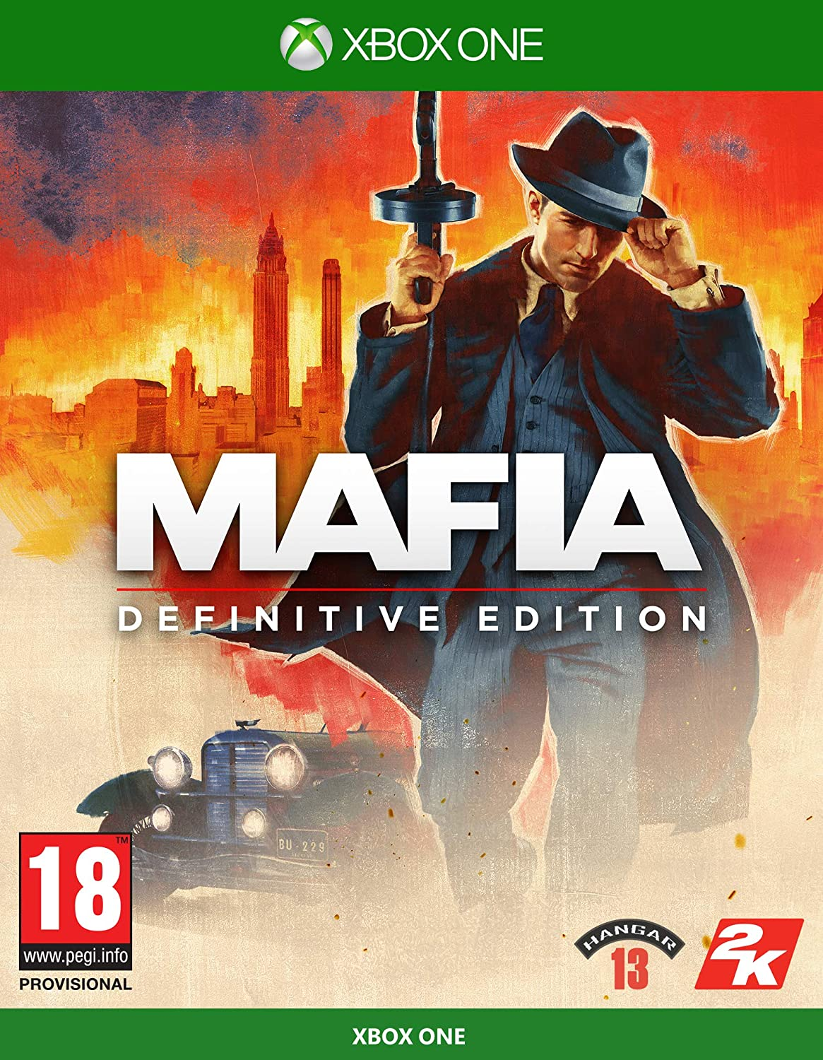 ✅ Mafia  Definitive Edition XBOX CD KEY