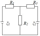 76. Determine the current strength I3 in resistor R3 an