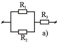 100. Three resistance (R1 = 1 ohm, R2 = 2 ohm R3 = 3 oh