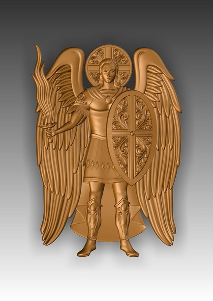 Direct link to the 3d model of the Archangel Michael