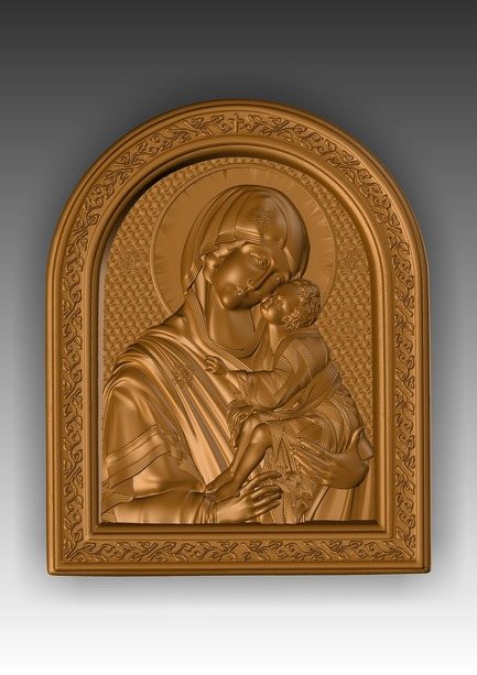 Direct link to the 3d model of the Virgin