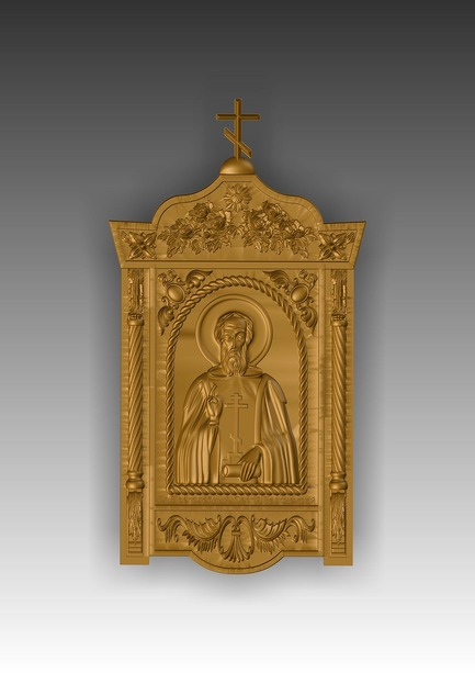 Direct link to the 3d model of St. Sergius of Radonezh