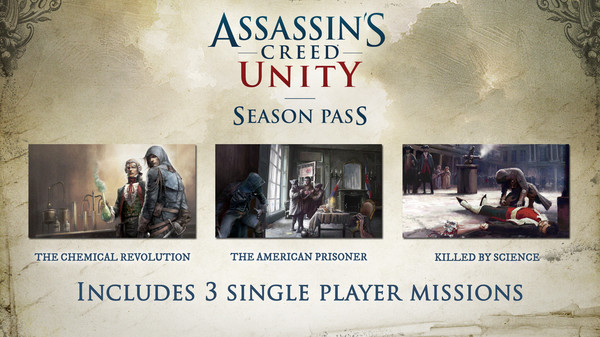 Assassin's Creed® Unity Season Pass