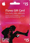 $ 15. . iTunes (USA). . Scan the original card. $ 15