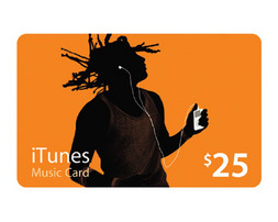 $ 25. . iTunes (USA). . Scan the original card. $ 25