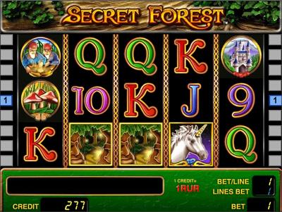 Ігровий автомат secret forest опис