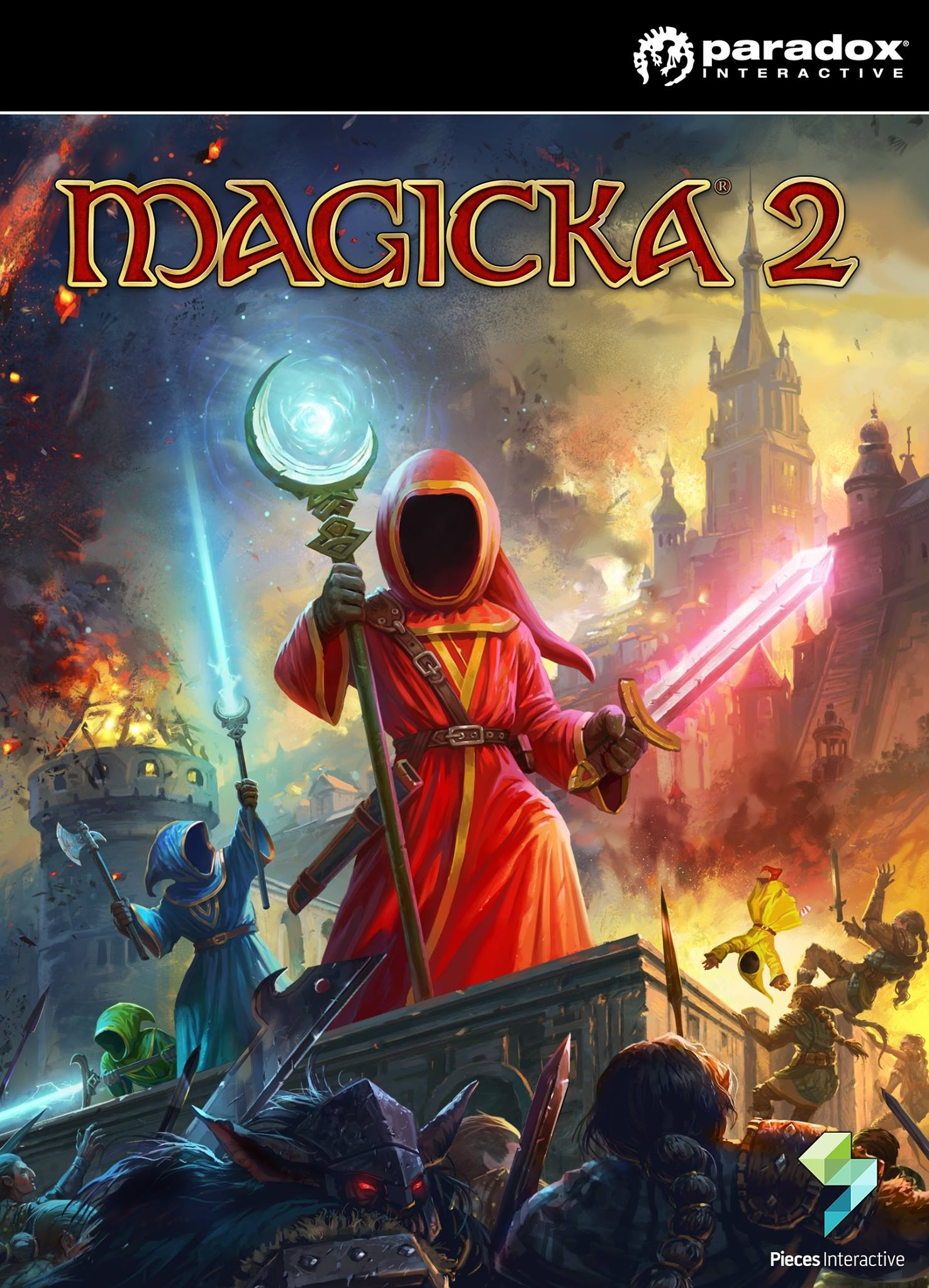 Magicka 2  (steam key/ ru)