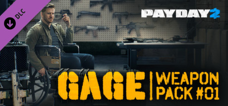 PAYDAY 2: Gage Weapon Pack #01 (DLC) STEAM GIFT