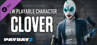 PAYDAY 2: Clover Character Pack (STEAM gift) dlc RU