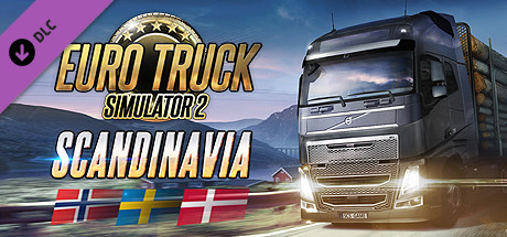 DLC Euro Truck Simulator 2 Scandinavia STEAM key RU