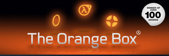 THE ORANGE BOX: 5 ИГР(HALF LIFE 2 + TF2+PORTAL )STEAM