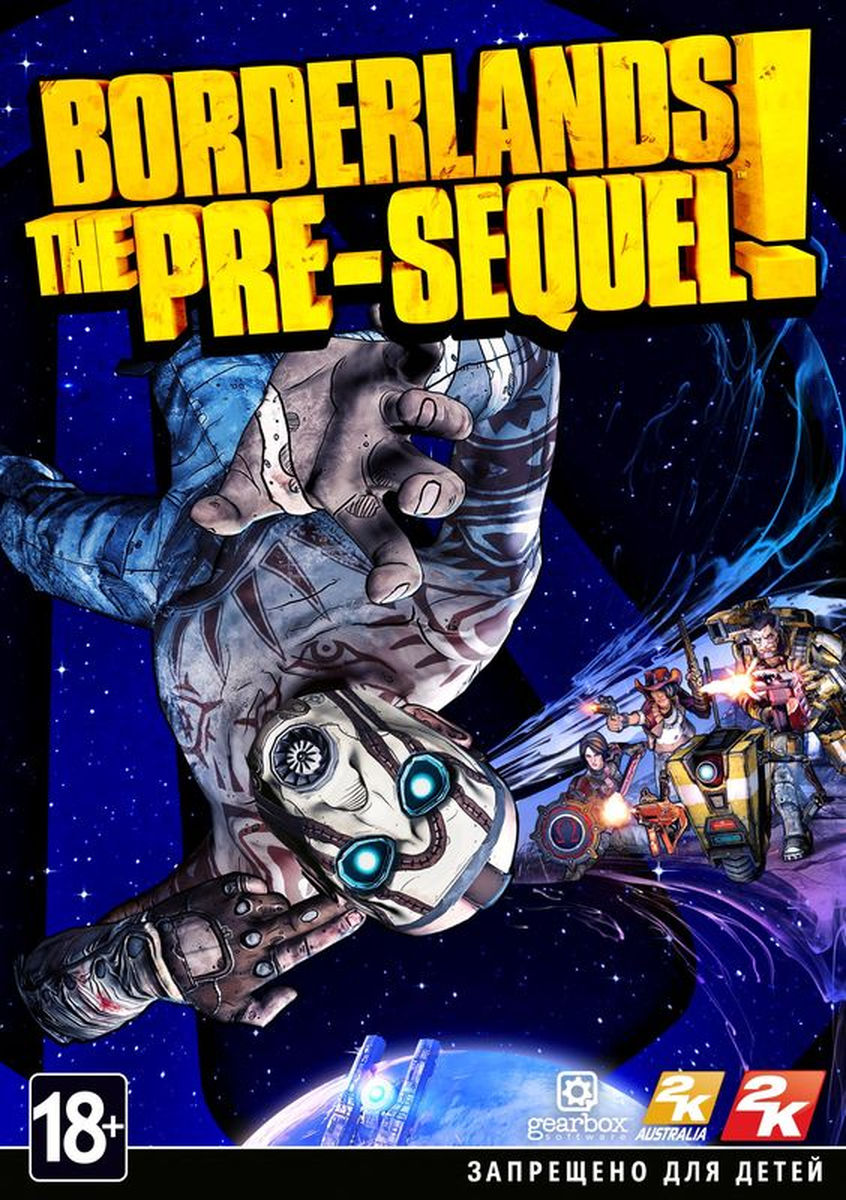 Borderlands The Pre-Sequel /Steam key (RU/CIS)