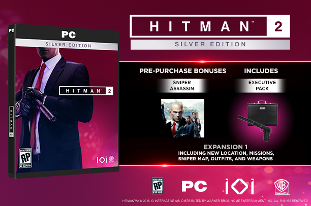 HITMAN 2 - Silver Edition (Steam Key)RU+CIS