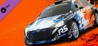 DLC DiRT 4 Hyundai R5 rally car / STEAM KEY