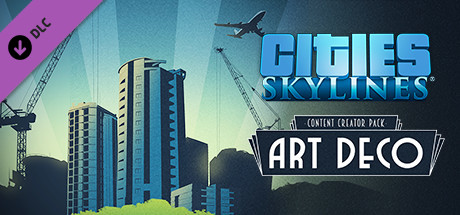 DLC Cities Skylines: Content Creator Pack: Art Deco(RU)
