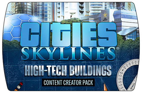 Cities: Skylines - Content Pack High-Tech Buildings DLC