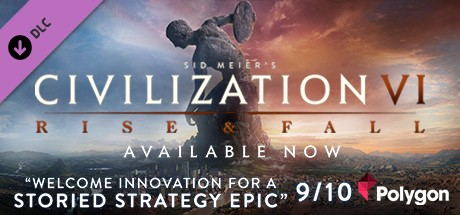 DLC Sid Meier's Civilization VI 6 Rise and Fall /STEAM