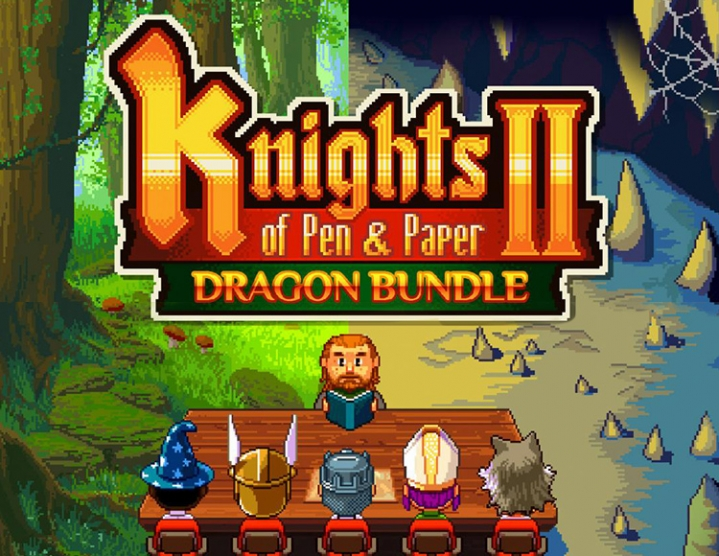 Knights of Pen and Paper 2 - Dragon Bundle / Steam/RU 2019