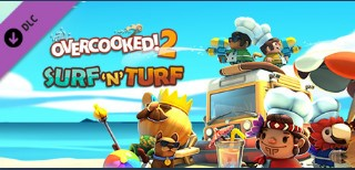 DLC Overcooked! 2 Surf 'n' Turf/ Steam Key /RU+CIS