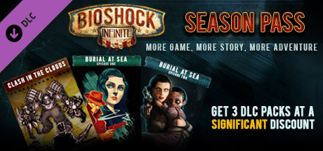 DLC BioShock Infinite Season Pass /Steam Key / RU+CIS 2019