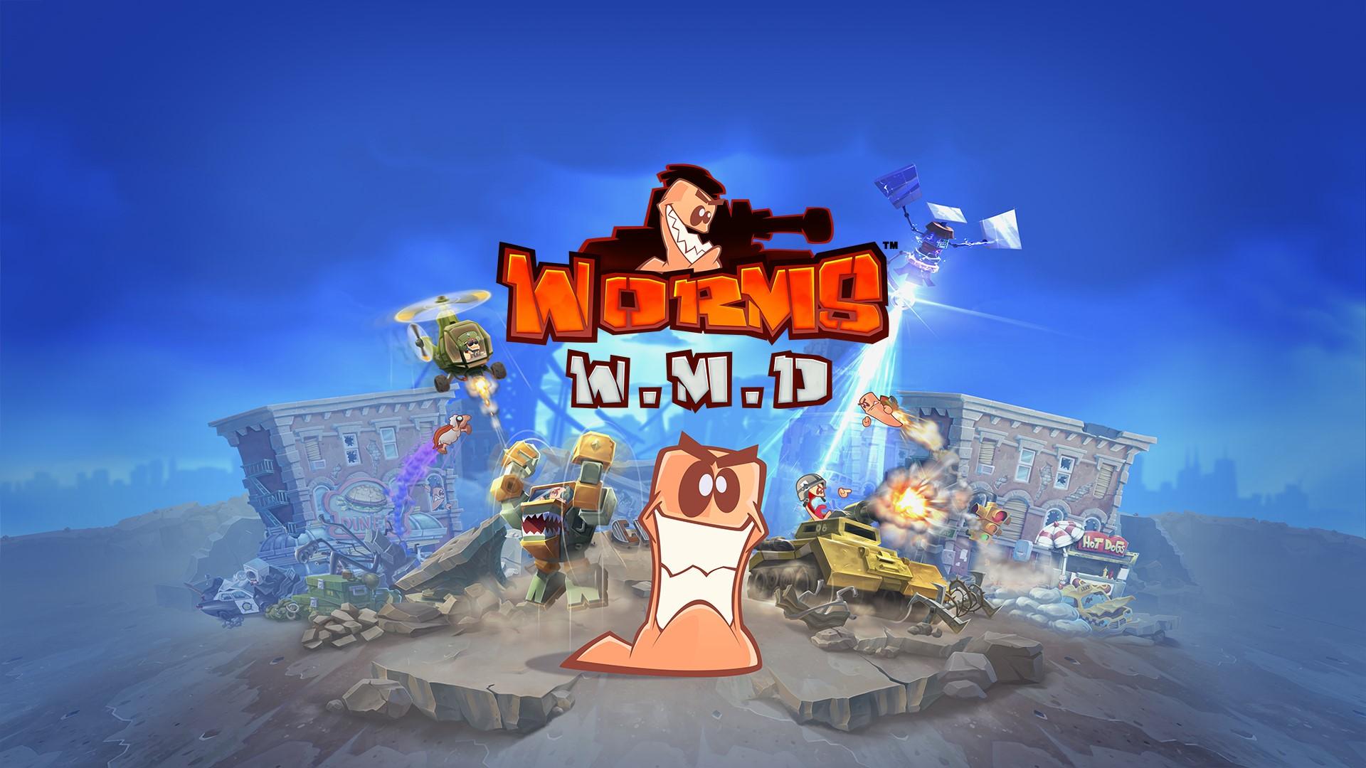 Worms W.M.D (Steam KEY) RU+CIS 2019