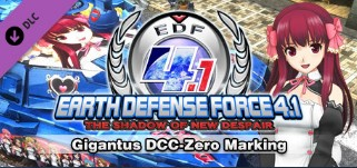DLC EARTH DEFENSE FORCE 4.1 Gigantus DCC-Zero Marking 2019