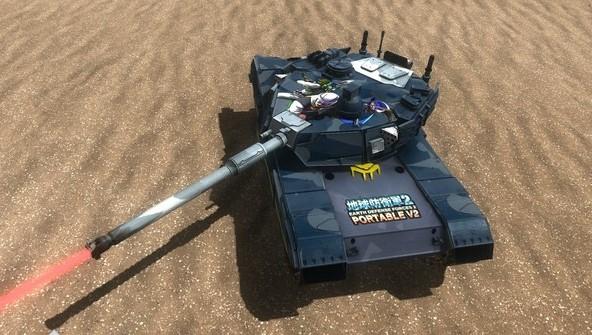 EARTH DEFENSE FORCE 4.1 Gigantus Tank, EDF IFPS Marking 2019