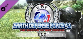 DLC EARTH DEFENSE FORCE 4.1 Ifrit / Steam Key / Global 2019
