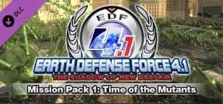 EARTH DEFENSE FORCE  Mission Pack 1 Time of the Mutants