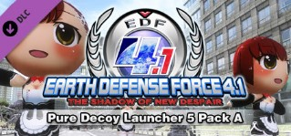 EARTH DEFENSE FORCE 4.1 Pure Decoy Launcher 5 Pack A