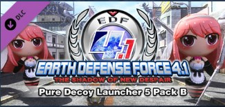 EARTH DEFENSE FORCE 4.1 Pure Decoy Launcher 5 Pack B
