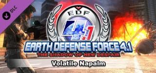 DLC EARTH DEFENSE FORCE 4.1 Volatile Napalm / GLOBAL 2019