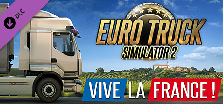 DLC Euro Truck Simulator 2 - Vive la France /STEAM KEY 2019