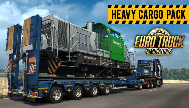 DLC Euro Truck Simulator 2 - Heavy Cargo Pack / RU+CIS 2019