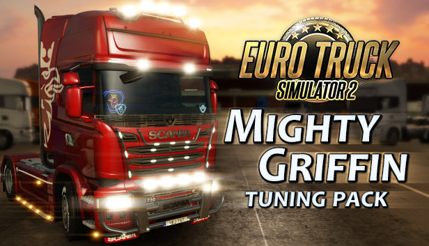 DLC Euro Truck Simulator 2 Mighty Griffin Tuning Pack