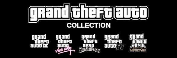 Grand Theft Auto Collection / Steam Gift / Russia