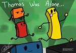 Thomas Was Alone / Steam gift / RU
