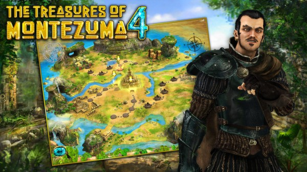 The Treasures of Montezuma 4 STEAM GIFT RU/CIS