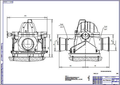 Buy Drawing of the crude-oil trunk pump NM 10000-380-2 and download