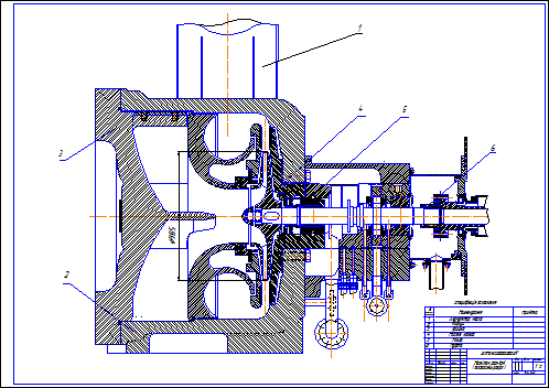 Drawing of gas centrifugal compressors 520-12-1 (v.2)
